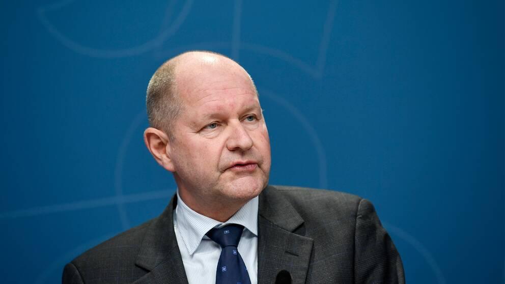 Dan Eliasson, generaldirektör för MSB.