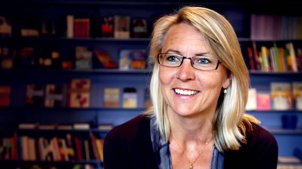 Kristina Ahlinder, vd för Förläggareföreningen