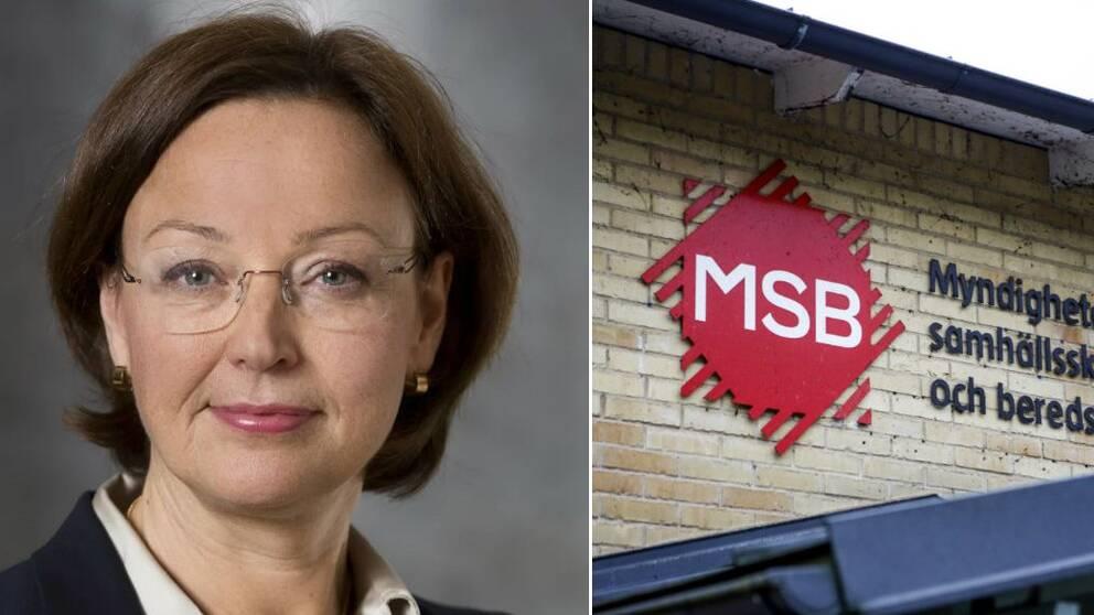 Camilla Asp, som nu blir tillförordnad generaldirektör, har arbetat som avdelningschef på MSB sedan 2016.