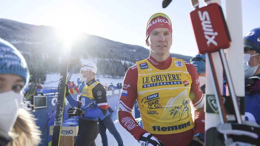 Alexander Bolsjunov vann herrarnas masstart.