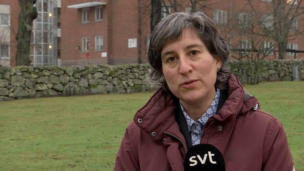 Lisa Labbé Sandelin, smittskyddsläkare i region Kalmar.