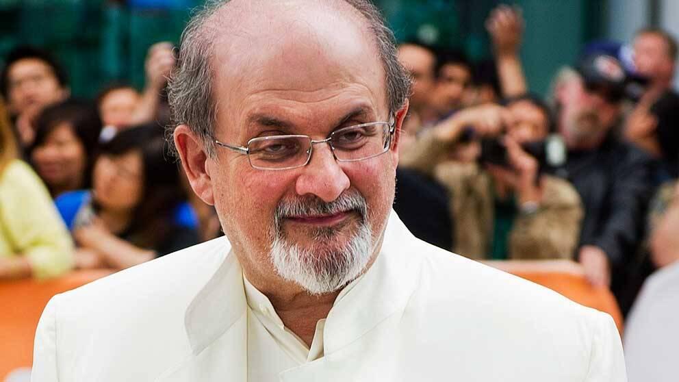 Författaren Salman Rushdie