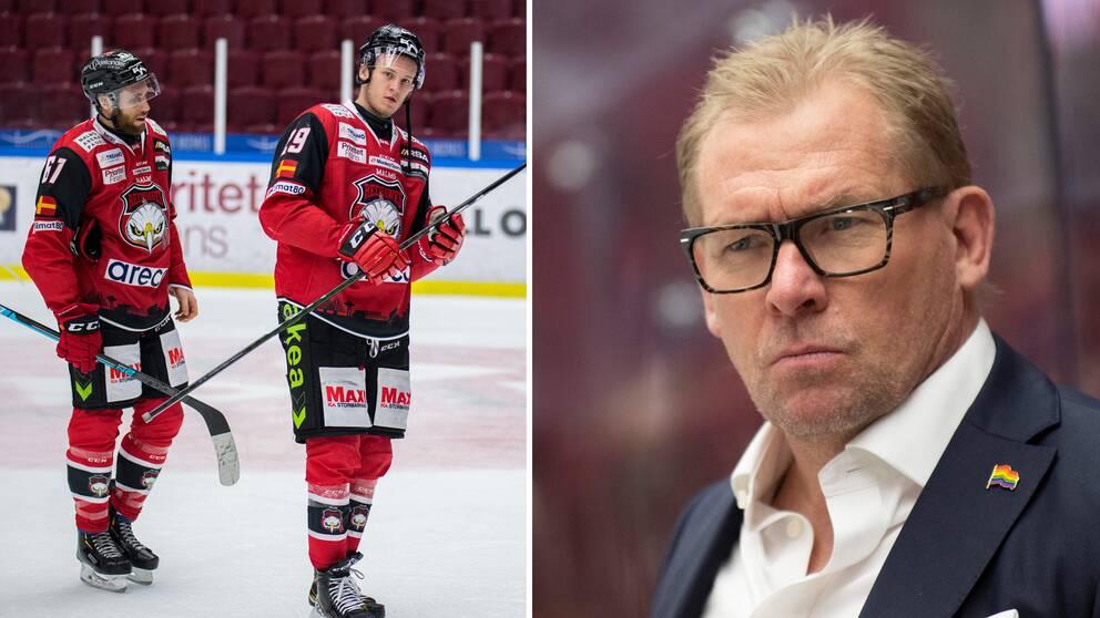Patrik Sylvegård kritisk till SHl fortgår trots rådande coronaläge