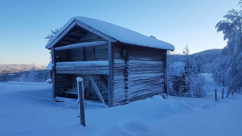 Fotodatum 10 jan. Josefsberg,Levattnet i Torsby Kommun, Värmland.