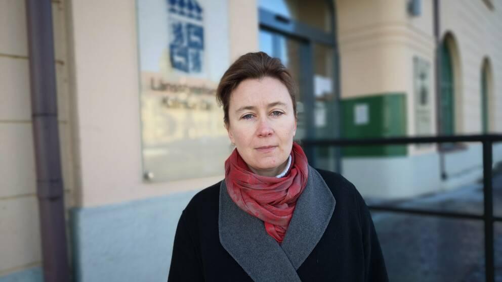 Sara Brattström, miljöskyddshandläggare på Vattenenheten på länsstyrelsen i Kalmar.