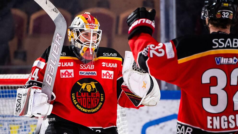 Joel Lassinantti i Luleåtröjan.