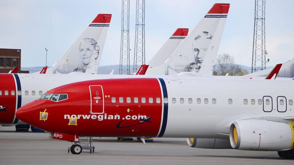 Norwegianflygplan