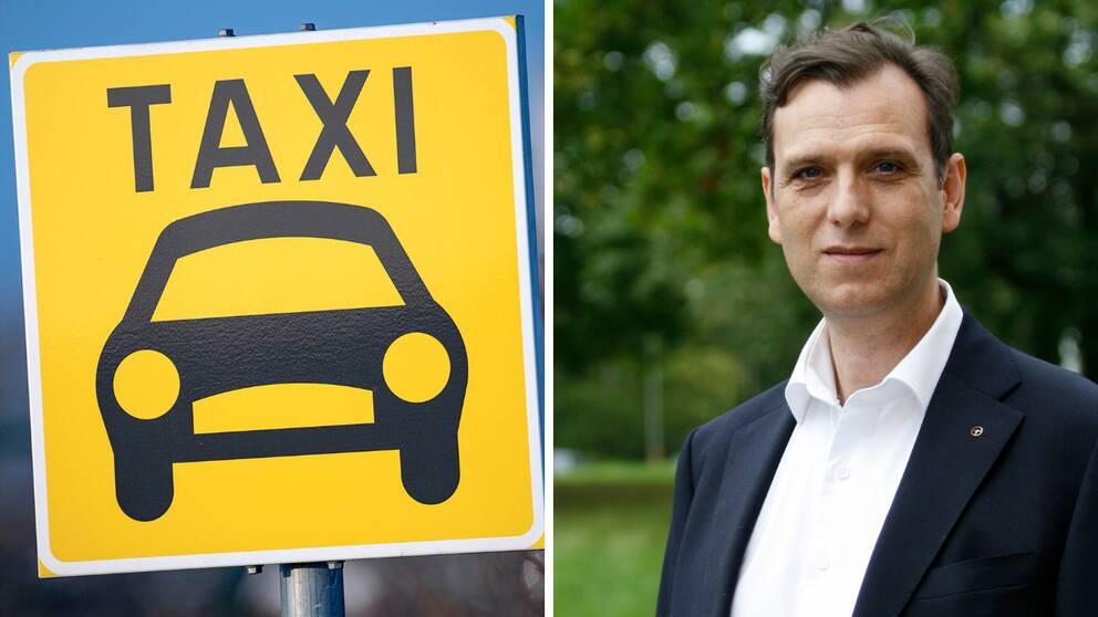 Claudio Skubla, förbundsdirektör Svenska Taxiförbundet