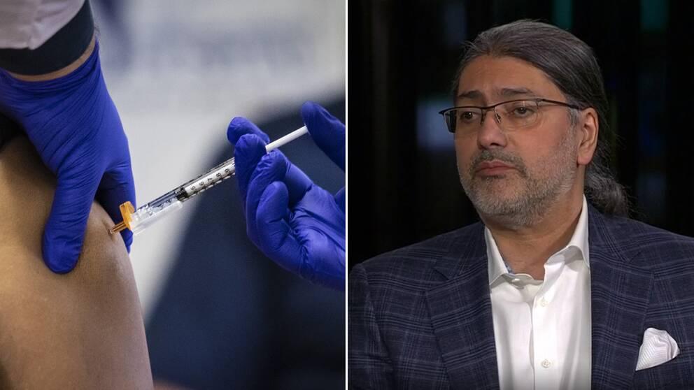 I nuläget avråds de som är gravida från att vaccinera sig mot covid-19