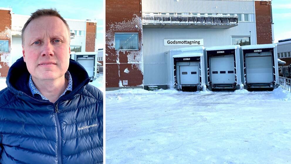 Lars Kempe, chef för transportenheten som glömde blodprov ute i kall bil.