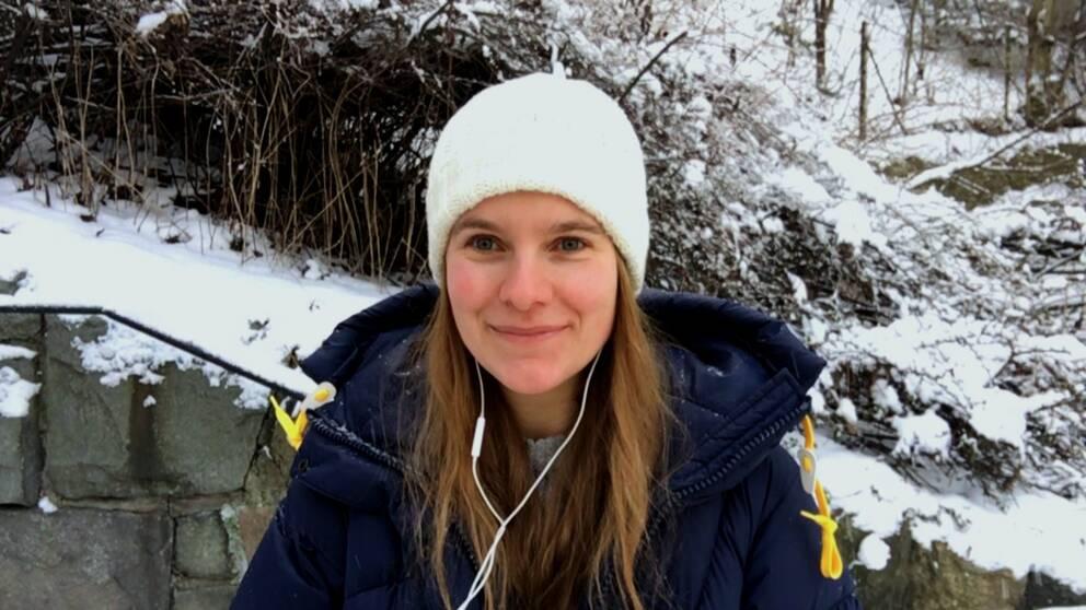 Tora Tomasdottir, meteorolog på SVT.