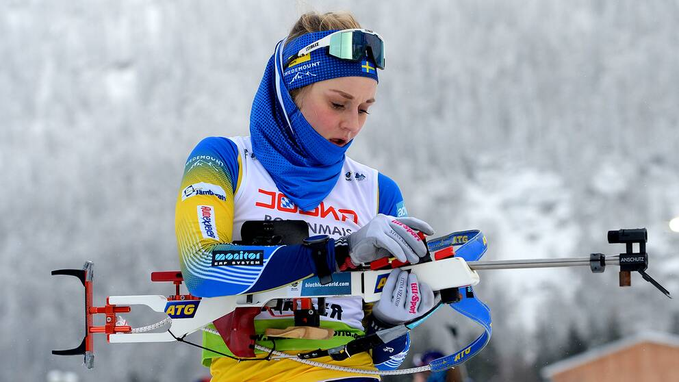Stina Nilsson slutade 69:a i tyska Arber under lördagen.