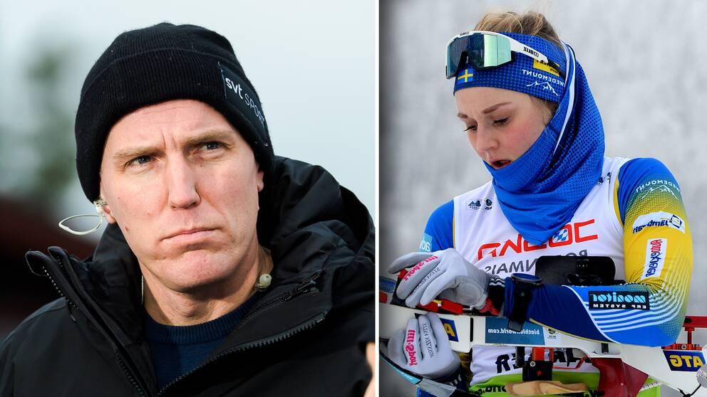 Björn Ferry analyserar Stina Nilssons åktider.