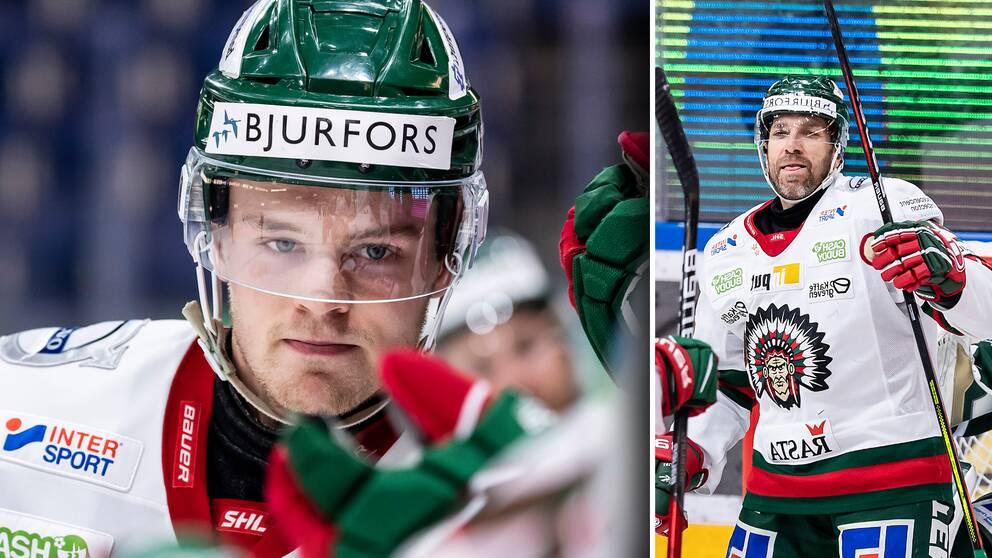 Filip Johansson och Joel Lundqvist hade en bra kväll mot Färjestad.