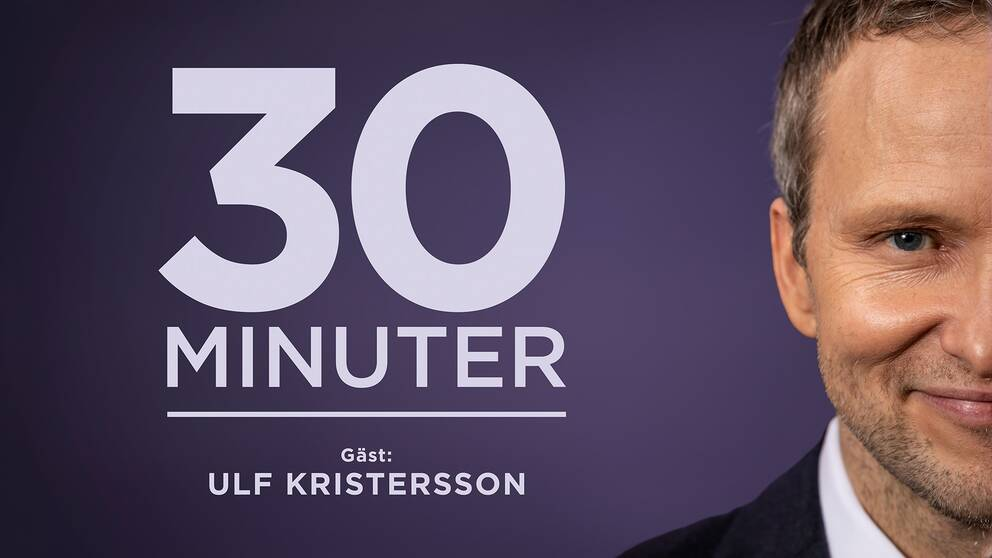 30 minuter med Anders Holmberg – gäst Ulf Kristersson