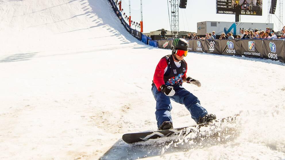 Svenske Sven Thorgren under X-Games i Norge.