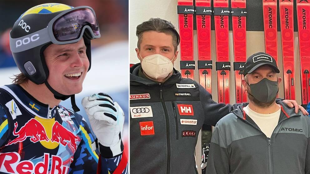 Felix Monsén, Alexander Köll och norske servicemannen Tor Schjevje.