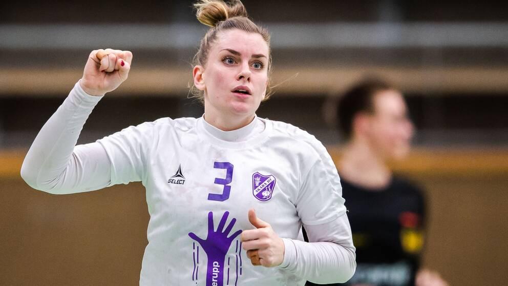 Sofia Berndtsson gjorde sex mål mot Kungälv.