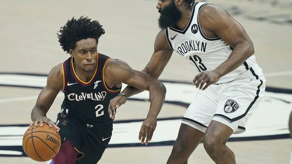 Clevelands Collin Sexton sänkte topplaget Brooklyn i natt igen.