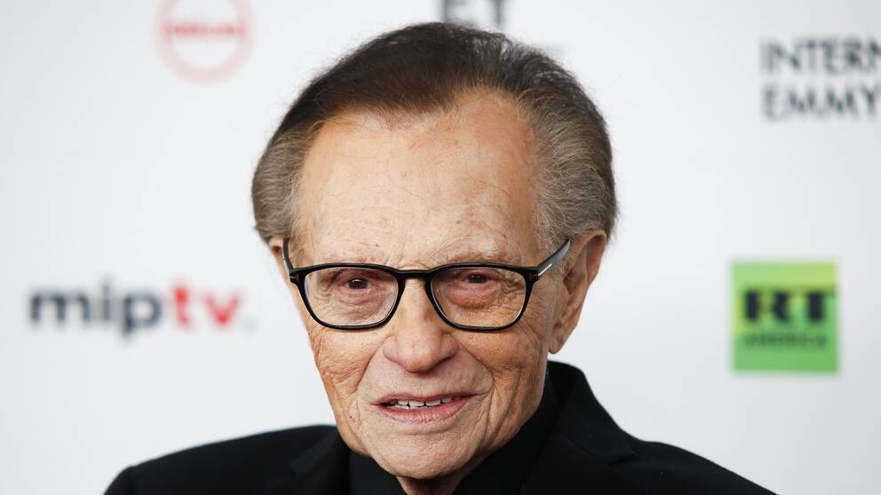 Larry King. Arkivbild.