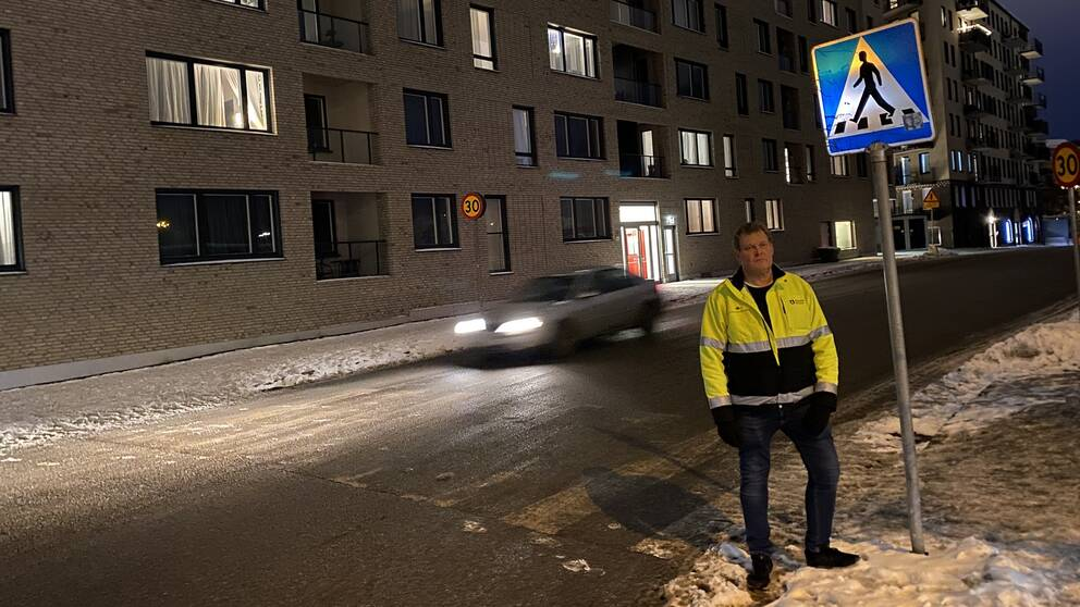 """""""Något har gått riktigt snett"""" säger Anders Eklind, stadsmiljöchef i Södertälje kommun."""