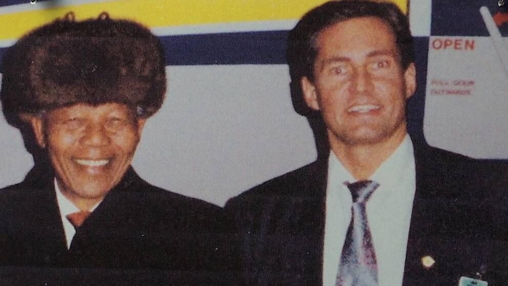 Mandela och Göran Bergström