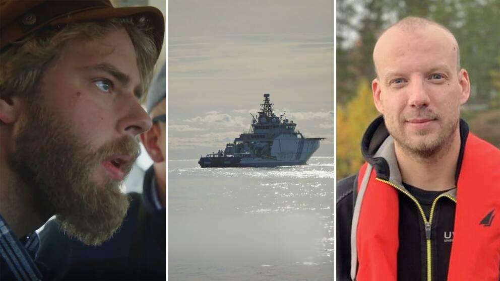 Journalisten Henrik Evertsson och vrakexperten Linus Andersson står åtalade