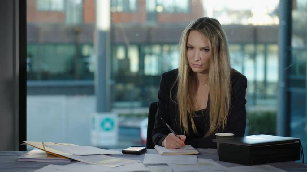 SVT:s reporter Valeria Helander