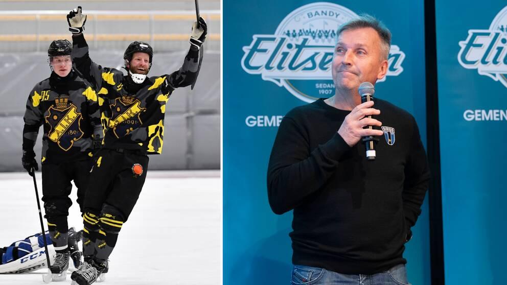 Arkivbild. Förre Sirius-tränaren Esa Määttä tar över huvudansvaret för AIK.