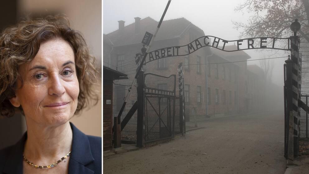 """""""Arbete ger frihet"""" var budskapet som mötte de nya fångarna när det anlände till det komplex av koncentrationsläger, arbetsläger och utrotningsläger som utgjorde Auschwitz. I intervjun nedan berättar Ingrid Lomfors om den oroväckande utvecklingen i Europa och utmaningarna med invandring från länder där antisemitism är en statsideologi."""