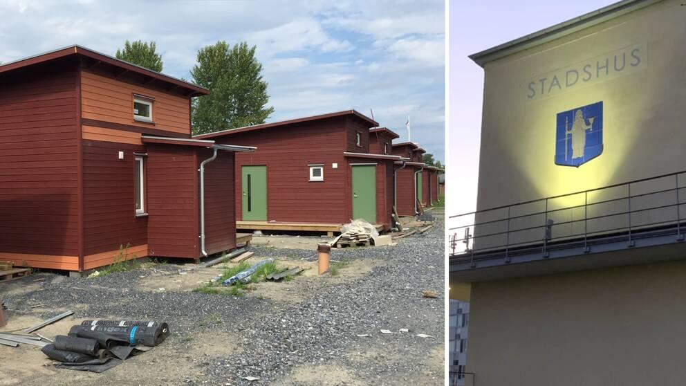 Attefallshus och Kungsbacka kommun.