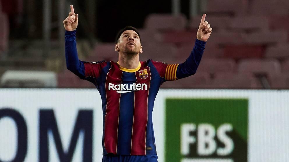 Lionel Messi inledde målskyttet för Barcelona mot Athletic Bilbao.