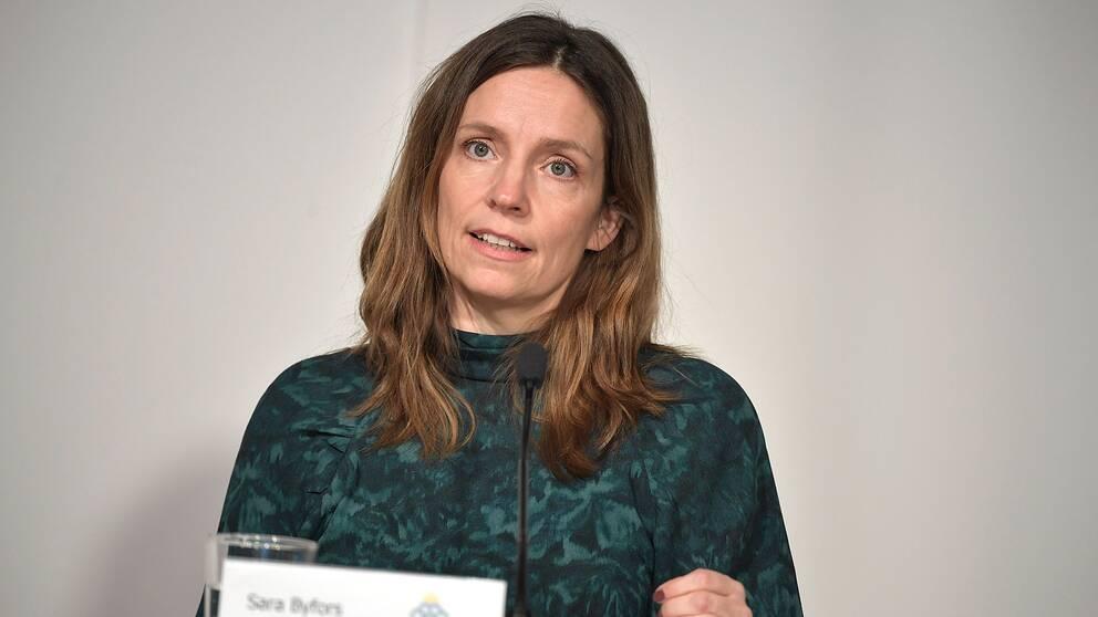 Sara Byfors, enhetschef, Folkhälsomyndigheten