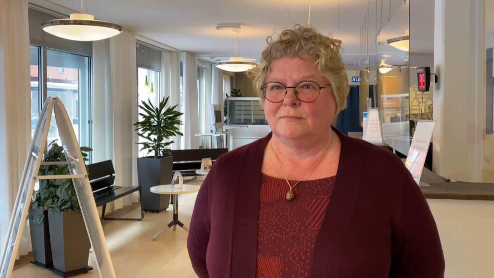 Välfärdsförvaltningens chef Inger Bergström