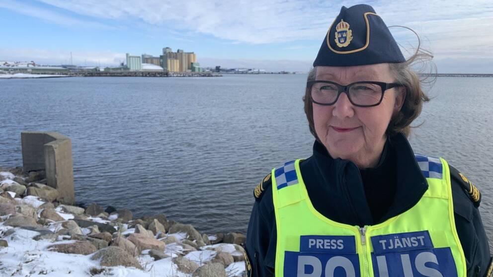 Polisens presstalesperson Ewa-Gun Westford