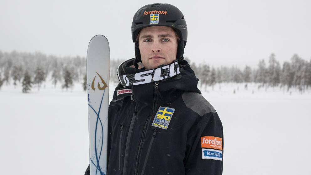 Ludvig Fjällström slutade trea i världscupen.