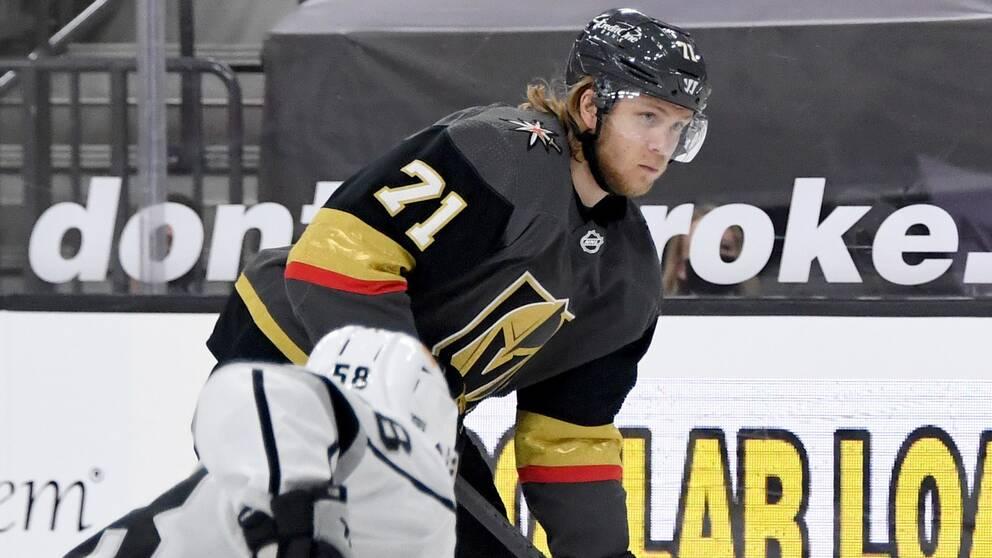 William Karlsson gjorde ett mål för Vegas mot Los Angeles.
