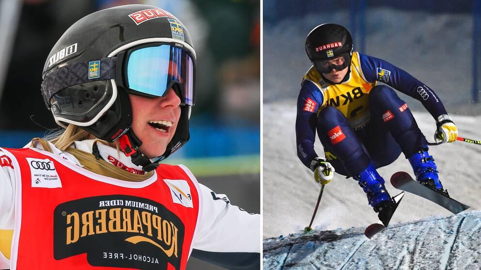 Sandra Näslund och Alexandra Edebo kör VM.