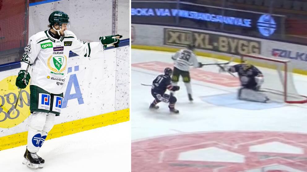 Jakob Forsbacka Karlsson bröt måltorkan mot LHC.