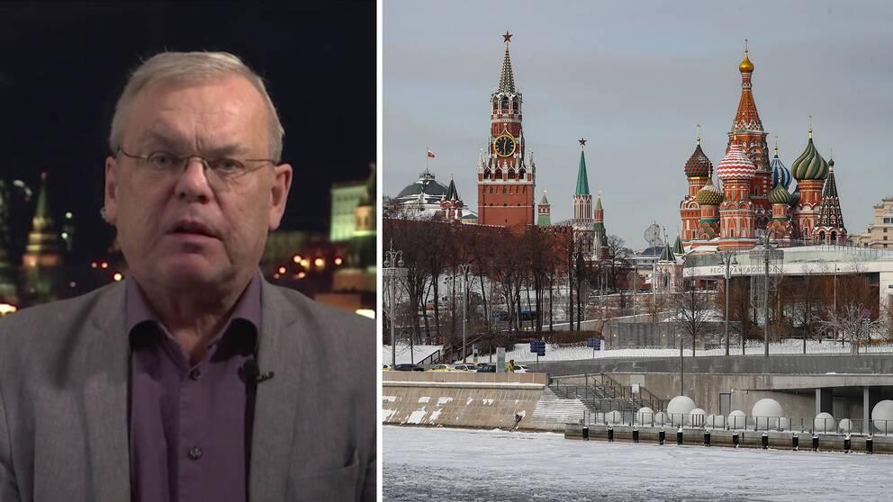 Bert Sundström, SVT:s Rysslandskorrespondent.