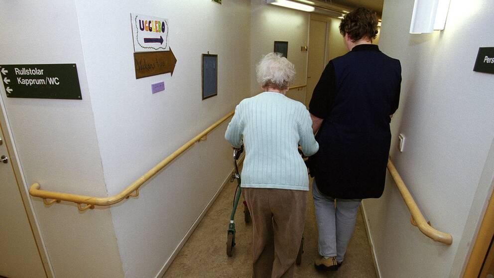 Pensionär på serviceboende
