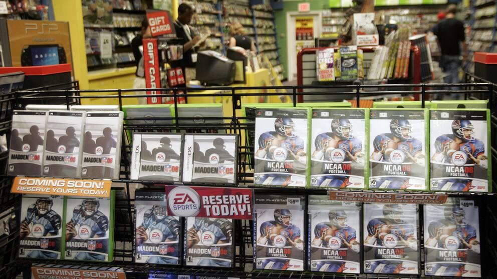 Spelbutiken Game går i konkurs.
