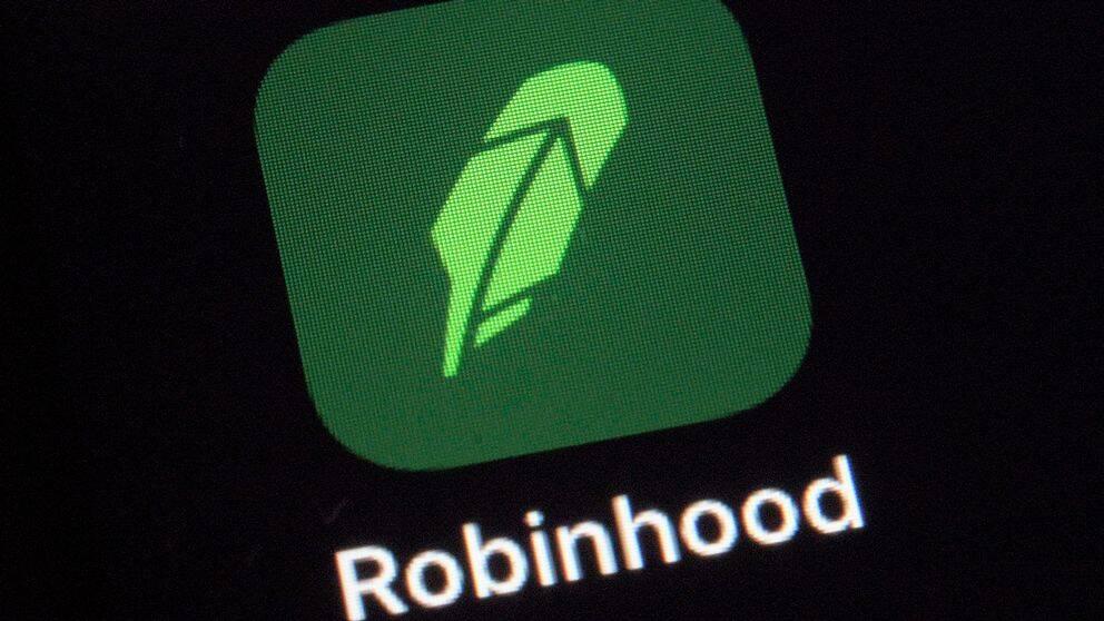 Bild på appen Robinhood.