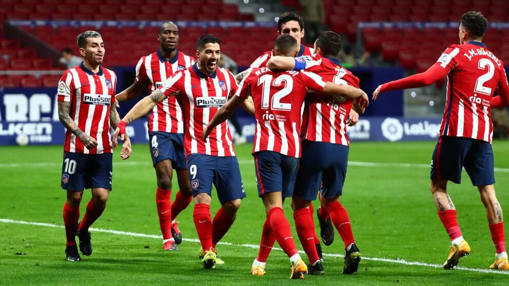 Matchen var planerad att spelas på Wanda Metropolitano i Madrid.