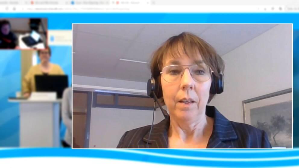Regionens vaccinsamordnare Karin Sellgren.
