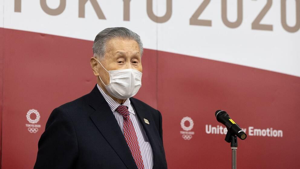 Yoshiro Mori i blåsväder