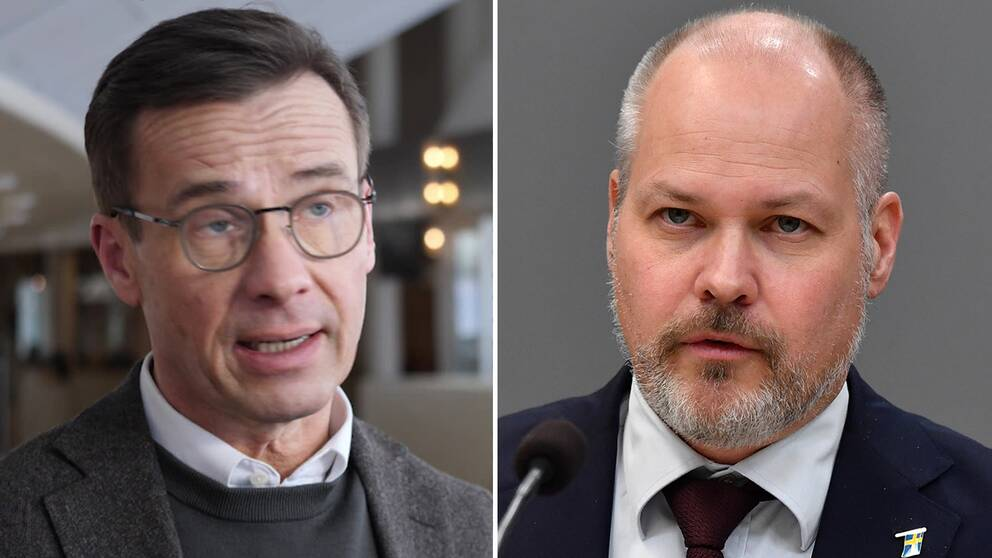 Ulf Kristersson/Morgan Johansson