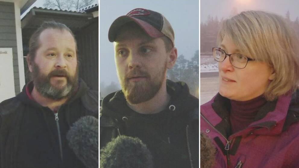 Oskar Ljungkvist, Alexander Tanner och Anna Wistrand