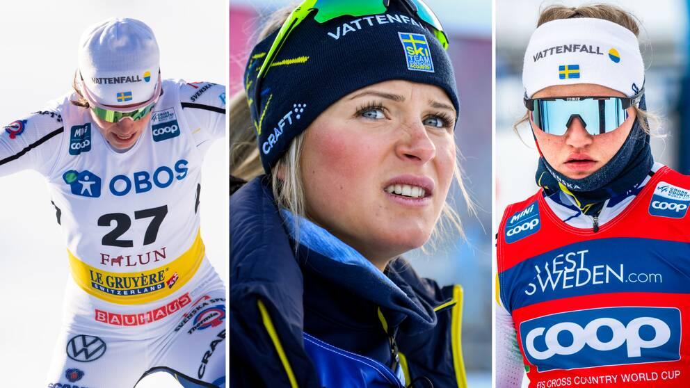 Damtränaren Magnus Ingesson ger lugnande besked kring trion.