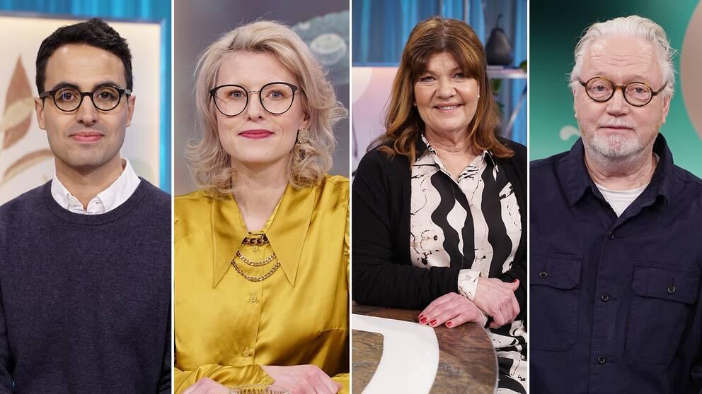 Beroendeforskaren Lotfi Khemiri, föreläsaren och poddaren Ida Högström, läkaren Karin Granberg och prästen Olle Carlsson svarar på era frågor om beroende och medberoende.